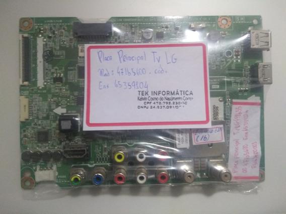 Placa Principal Lg 47lb5600 Eax65359104(1.1) Nova! Original!