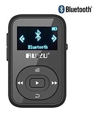 Mp3 Player Ruizo 16gb (8gb Interno+cartão 8gb) X26 Bluetooth