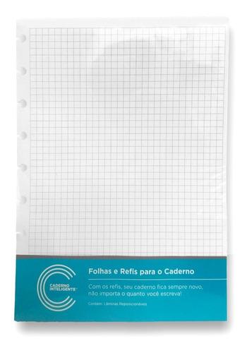 Refil Quadriculado A5 - Caderno Inteligente