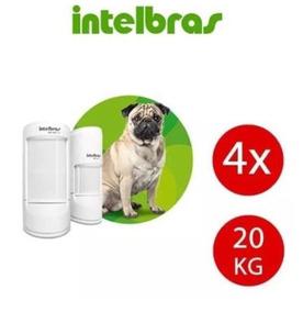Sensor Infra Passivo Com Fio Intelbras Ivp5001 Pet Não Falha