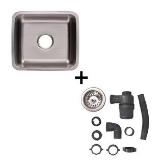 Fregadero Tarja Submontar Acero Inox.+ Kit Instalación%sale%