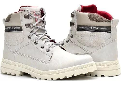 Sapato Coturno Bota Masculina Casual