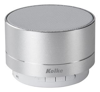 Parlante Kolke Kpp-184 Bluetooth C/fm Plata
