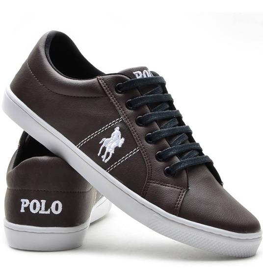 Sapatenis Casual Tênis Polo Plus Promoção Outlet Franca!!
