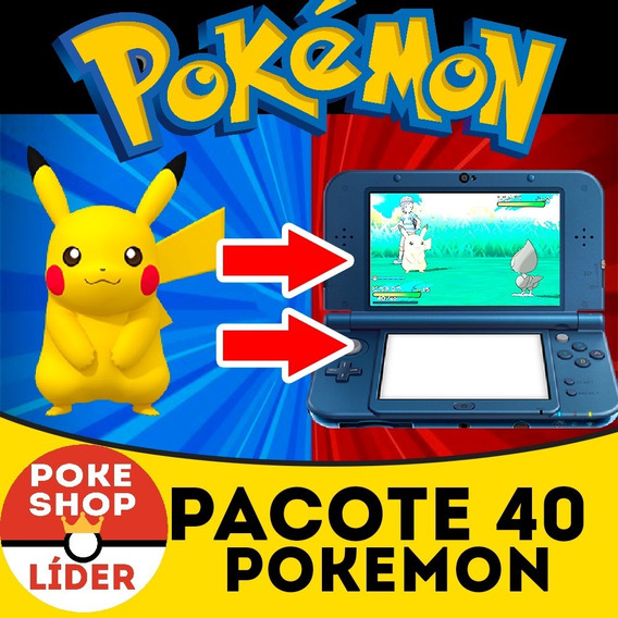Pokemon Sm/ultrasm/oras/xy + Brindes - Pack 40 Pokemon