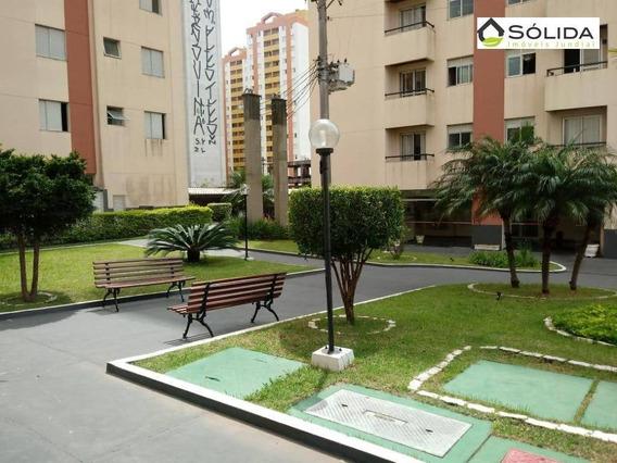 Apartamento Com 2 Dormitórios Na Av Nove De Julho Para Alugar, 57 M² Por R$ 1.000/mês - Anhangabaú - Jundiaí/sp - Ap0369