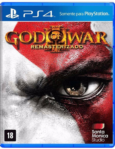 God Of War 3 Remasterizado Ps4 Mídia Física Lacrado