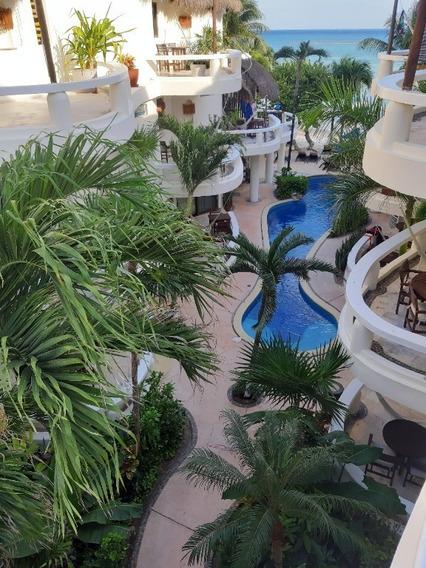 Estudio Beach Front Muy Cotizado Para Rentas Playa Del Carmen P3121