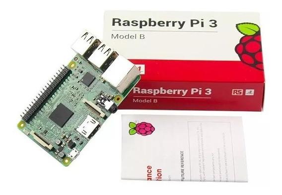 Raspberry Pi3 Pi 3 Model B Quadcore 1.2ghz Novo Na Caixa