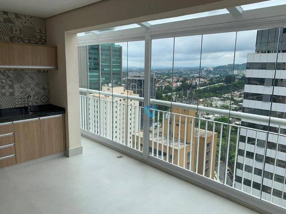 Apartamento Duplex Com 4 Dormitórios À Venda, 150 M² Por R$ 1.400.000,00 - Edifício London Ville - Barueri/sp - Ad0003