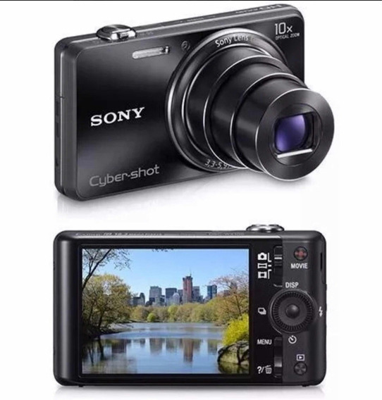 Câmera Digital Sony Cyber Shot Dsc-wx100 18.2mp Top De Linha
