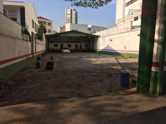 Terreno Comercial Para Locação, Jardim Anália Franco, São Paulo. - Te0211