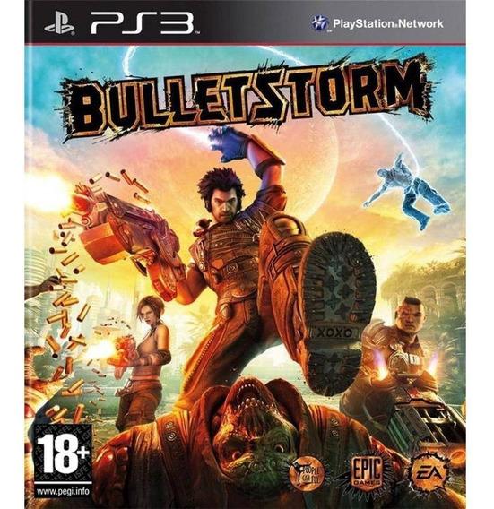 Jogo Bulletstorm Ps3 Novo Lacrado Raridade