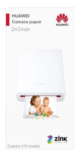 Papel Fotográfico Impressora Portátil Huawei Ar Zink (20 Un)