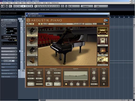 Akoustik Piano Native Instruments + Expansões - Pc
