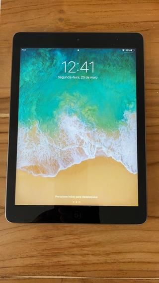 iPad Air 16gb Wifi - Muito Novo + Capa Proteção Militar