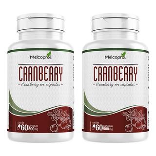 Cranberry - 2x 60 Cápsulas - Melcoprol