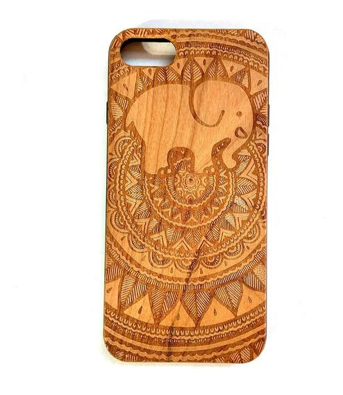 Funda iPhone 7 Y iPhone 8 Case Madera Grabada