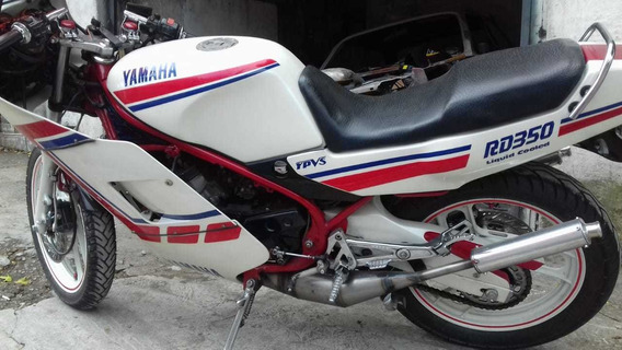 Yamaha Rd 350 Impecável - Troco Por Dt 200 + Dinheiro