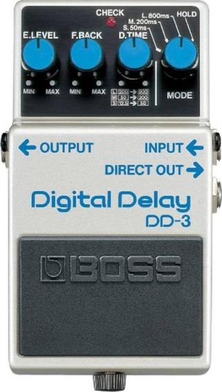 Pedal Para Guitarra Boss Dd-3 Digital Delay