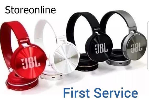 Fone Jbl Bluetooth - Fm - P2 - Cartão Sd - Microfone