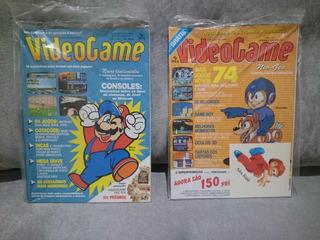Revista Videogame Número 1 E Número 2 Lacradas (raridade)