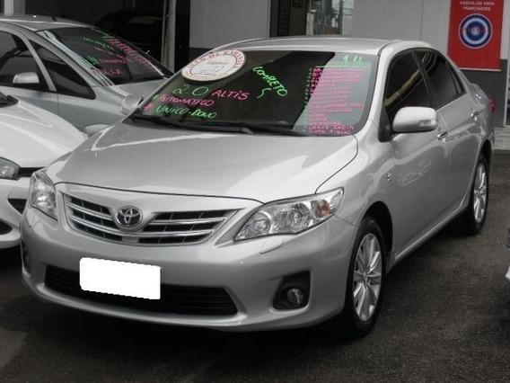 Toyota Corolla 2.0 Altis 16v Flex 4p Aut. 2014 Prata