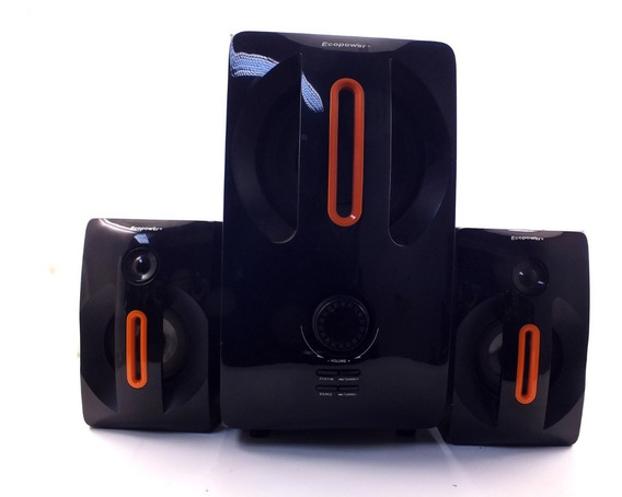 Home Theater Ecopower Ep-6815 Bluetooth 2.1 Usb 40w A10227