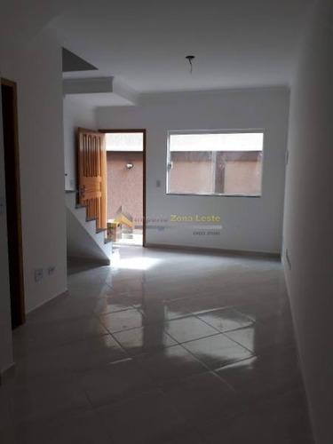 Sobrado Em Condomínio Para Venda No Bairro Vila Constança, 2 Dorm, 2 Suíte, 1 Vagas, 57 M - 4465