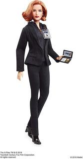 Barbie The X-files Agent Dana Scully Doll 25 Aniversario Ma