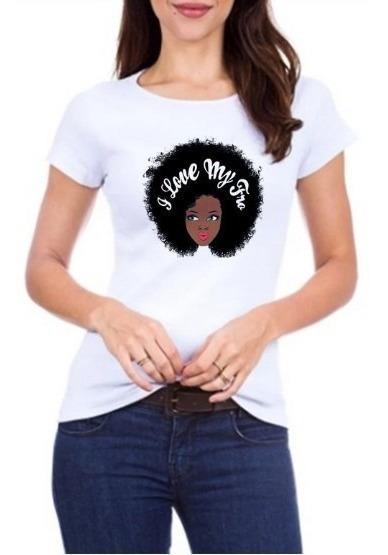 T-shirt - Love My Fro