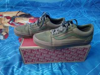 Vans Old Skool Suede Green #7.5 Mx