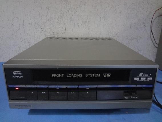 Vídeo Cassete Cce Vcp - 9000 - Para Conserto!!! Raro