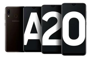 Nuevo Samsung A20 2019 De 32 Gb +funda+vidrio Templado