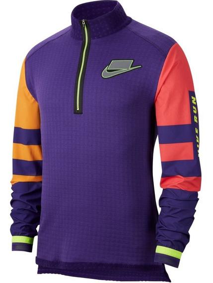 Sudadera Nike Wild Run Midlayer Therma Correr Running Gym