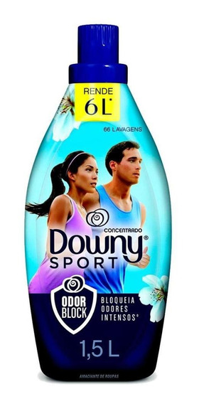 Amaciante Downy Sport Odor Block 1,5l