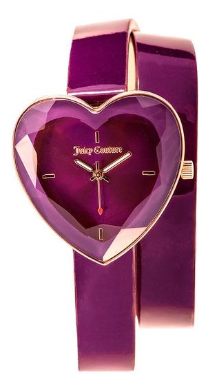 Reloj Juicy Couture Piel Correa Púrpura