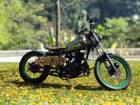 Suzuki Intruder 125 Bobber Café Racer Customizada