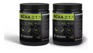 Bcaa 2:1:1 - 1kg 100% Puro - Importado - Soldiers Nutrition