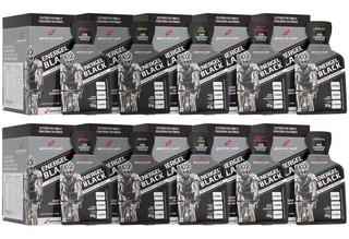 Kit 10x Caixas Gel Energel Black 100 Sachês - Bodyaction