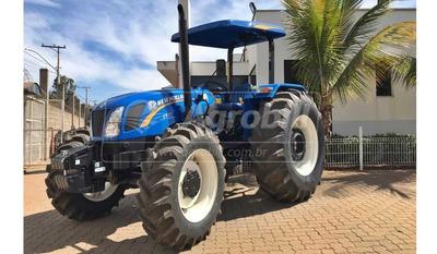 Trator New Holland Tt 75 4×4 Ano 2020 Novinho !!!