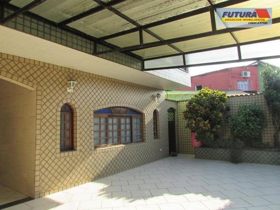 Sobrado Com 5 Dormitórios À Venda, 297 M² Por R$ 373.000 - Esplanada Dos Barreiros - São Vicente/sp - So0296