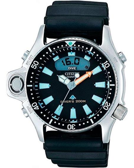 Aqualand Citizen Série Prata Relógio Jp2000-08e