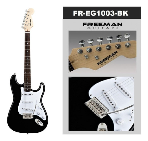 Guitarra Electrica Stratocaster Freeman