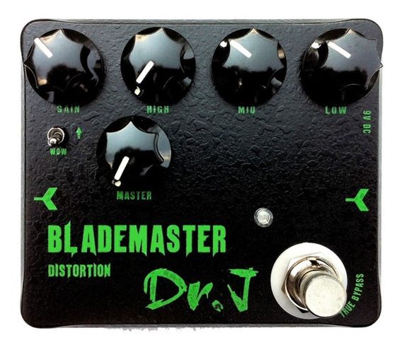 Pedal Guitarra Joyo Dr J Blademaster Distortion D58 + Nf + Garantia