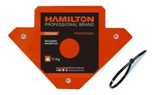 Escuadra Magnetica Soldador Hamilton 11kgseps25m + Regalo