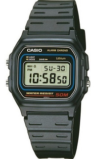 Reloj Casio Digital W-59-1v 50m Retro Sumergible