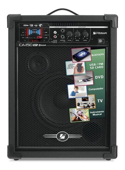 Caixa Amplificada Frahm 50w Rms Bluetooth Ca 150