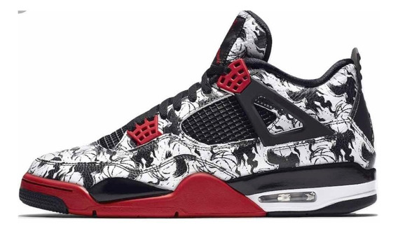 Tenis Jordan 4 Retro Tatto Nuevos Originales 29 Cm 9 Mx