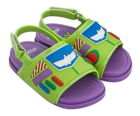 Sandália Infantil Mini Melissa Beach Slide + Toy Story